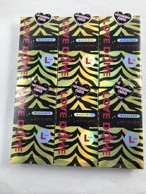 【×6個セットメール便送料込】【オカモト】ラブドーム タイガー ゆったりLサイズ 12個入り(コンドーム) 避妊具 スキン 大き目(4547691721280 )