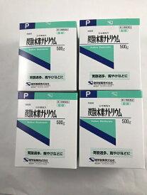 【×4個セット送料無料】【第3類医薬品】健栄製薬 炭酸水素ナトリウム 500g (4987286307763)