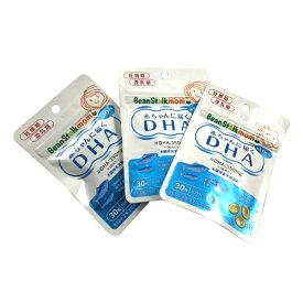 【×3個セット送料無料】雪印ビーンスターク ビーンスタークマム 母乳にいいもの 赤ちゃんに届くDHA 10日分 30粒/4987493013020/