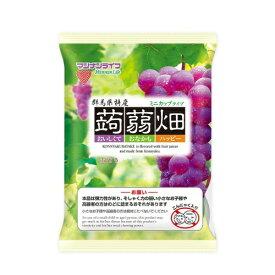 【送料無料・まとめ買い5個セット】マンナンライフ 蒟蒻畑 ぶどう味 25g×12個入 1袋