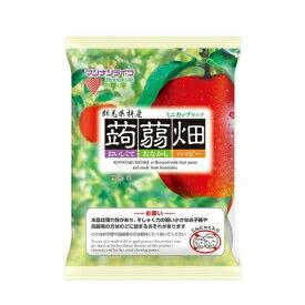 【送料無料・まとめ買い5個セット】マンナンライフ 蒟蒻畑 りんご味 25g×12個入 1袋