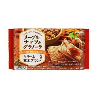 아사히바란스압크리무 현미 브랑 메이플 너트&그라노라 2 장×2봉
