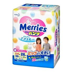 【送料無料・まとめ買い2個セット】花王 メリーズパンツ ビッグより大きいサイズ 26枚入