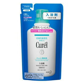 【送料無料・まとめ買い12個セット】花王 キュレル 入浴剤 つめかえ用 360ml