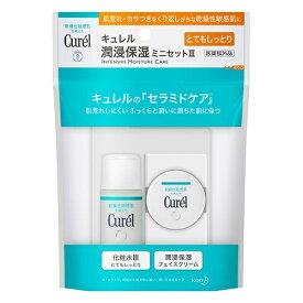 【配送おまかせ】花王 キュレル フェイスケアミニセット3 (化粧水III(とてもしっとり)30ml+フェイスクリーム10g) 1個