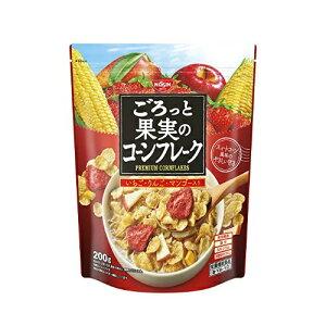 【送料無料・まとめ買い12個セット】日清シスコ ごろっと果実のコーンフレーク 200g