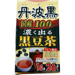 【送料無料 5000円セット】玉露園 国産100% 濃く出る黒豆茶 6g×26袋入×12個セット