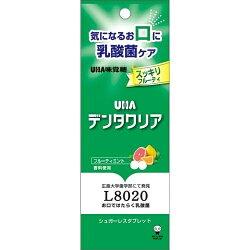 【送料無料・まとめ買い×10個セット】UHA味覚糖デンタルクリアタブレットフルーティミント7g