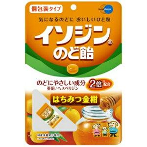 【送料無料・まとめ買い×6個セット】イソジン のど飴 はちみつ金柑 54g