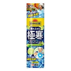 【サマーセール】桐灰化学 熱中対策 服の上から極寒スプレー シトラス 330ml
