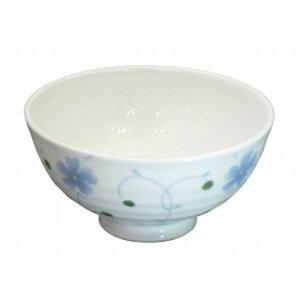 【送料無料】メープル おかるのキモチ 六兵衛茶碗 粒々つる葵(青)