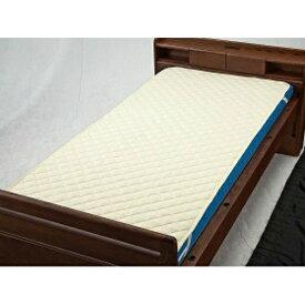 【送料無料】ウェルファン 洗えるベッドパット(綿ポリ)ベージュ Sレギュラー