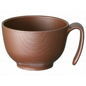 【送料無料】スケーター 木目持ちやすい茶碗ハンドル付ブラウン 茶碗ハンドル付