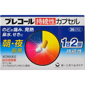 【第(2)類医薬品】 プレコール 持続性カプセル 36カプセル 【R】