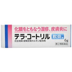 【スプリングセール】【第(2)類医薬品】テラ・コートリル 軟膏a 6g