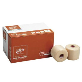 【送料無料 5000円セット】ZERO アンダーラップテープ 70mm×27m 12巻入×2個セット