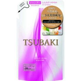 【送料無料・まとめ買い4個セット】資生堂 TSUBAKI ツバキ ふんわりつややか シャンプー つめかえ用 330ml