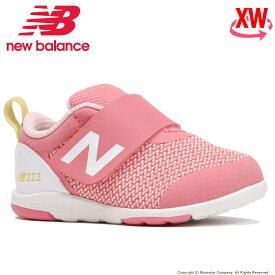 【10%OFFクーポン配布中!8/1まで】ニューバランス newbalance 【セール】 子供靴 ベビー シューズ NB IO223 PKY XW ピンク