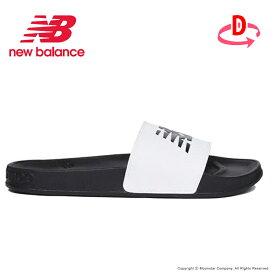 ニューバランス newbalance メンズ/レディース サンダル NB 200 SLIDE F1 ホワイト/ブラック