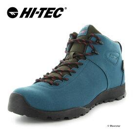 ハイテック HI-TEC 【送料無料】 メンズ/レディース ハイキング シューズ 透湿防水 HT HKU13 AORAKI CLASSIC WP ターコイズ