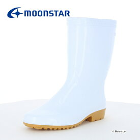 ムーンスター メンズ/レディース 耐油衛星長靴 ニューパラNEO ホワイト moonstar