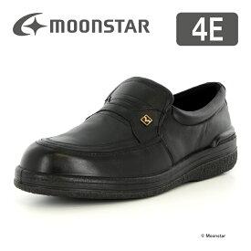 【お得なクーポン配布中!】 ムーンスター メンズ ビジネス シューズ SPH3502 ブラック moonstar 幅広 4E 撥水加工 国産