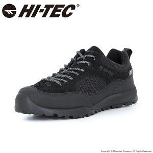 ハイテック HI-TEC メンズ/レディース アウトドア スニーカー 透湿防水 HT HKU11 AORAKI WP ブラック 黒 梅雨