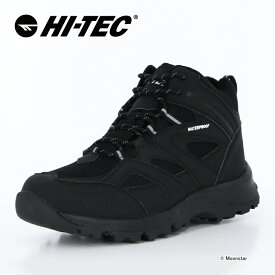 【10%OFFクーポン配布中!3/7まで】 ハイテック HI-TEC メンズ/レディース ウィンター ブーツ 防水 HT HKU29W LOCHNESS WP ブラック 黒