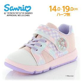 サンリオ マイメロディ 【21年春新作】 子供靴 キッズ スニーカー SAN C013 ピンク moonstar 女の子