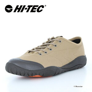 ハイテック HI-TEC メンズ/レディース レイン スニーカー 吸湿速乾 AMACRO OX 2 ベージュ