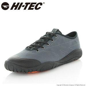 ハイテック HI-TEC メンズ/レディース レイン スニーカー 防水 透湿 AMACRO 3L OX ブラック 黒 梅雨