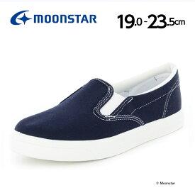 ムーンスター スニーカー 子供靴 キッズ スカーレットTef 307 ネービー moonstar