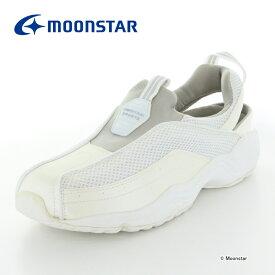 10%OFFクーポン配布中ムーンスター メンズ ナースシューズ おもいやりM101 ホワイト moonstar 3E 看護師
