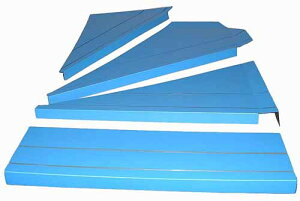 暖段 DANDAN 1ケース 養生材 直階段用8枚+左回り階段用6枚 引越し資材 保護材 簡易養生 マット 緩衝材 工事用品