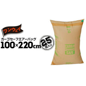 中津紙工カーゴセーフエアーバッグ 【ワンウェイタイプ】100cm×220cm25個