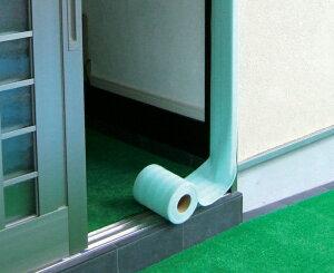 枠養生材 枠造35W 厚み2mm×幅35mm×長さ10m(1巻/バラ)粘着テープ付き 柱・開口枠 養生材