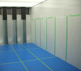 床用養生板 耐久性のある床養生ボード/ベストボード 厚1.5mm(30枚/セット)エンボス加工 1.5mm×910×1820mm【青ベニヤ 養生板 pp板】