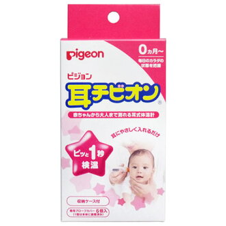 Pigeon ear thermometers ear チビオン