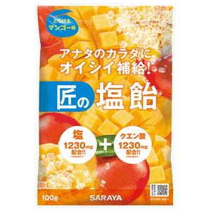 サラヤ 匠の塩飴 マンゴー味 100g