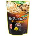チョーコー醤油 鶏だしコク鍋つゆ 1人前(30ml)×4袋入 [化学調味料無添加]