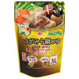 チョーコー醤油 しょうがみそ鍋つゆ 1人前(30ml)×4袋入 [化学調味料無添加]