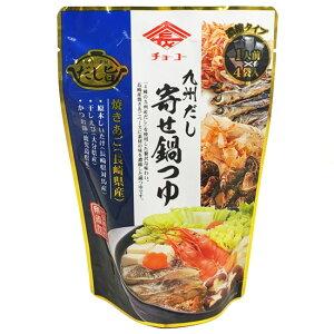 チョーコー醤油 九州だし寄せ鍋つゆ 1人前(30ml)×4袋入 [化学調味料無添加]