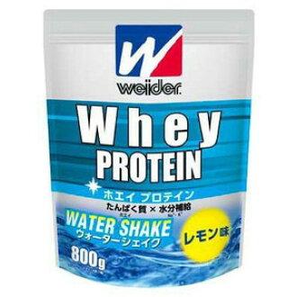 Weider whey protein water shake lemon taste 800 g