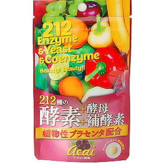 212 species the enzyme + yeast + Coenzyme (placenta contains botanical) 62 grain input.