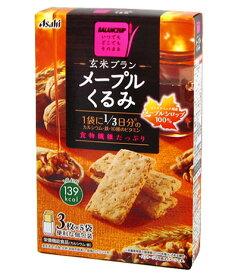 バランスアップ 玄米ブラン メープルくるみ 3枚×5袋 [栄養機能食品] 【Asahi】 [バランス栄養食/ダイエット食品]【RCP】