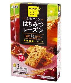 バランスアップ 玄米ブラン はちみつレーズン 3枚×5袋 [栄養機能食品] 【Asahi】 [バランス栄養食/ダイエット食品]【RCP】