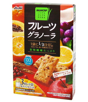 Balance up fruitgranola 3 x 5 bags [balanced nutrition and diet food]