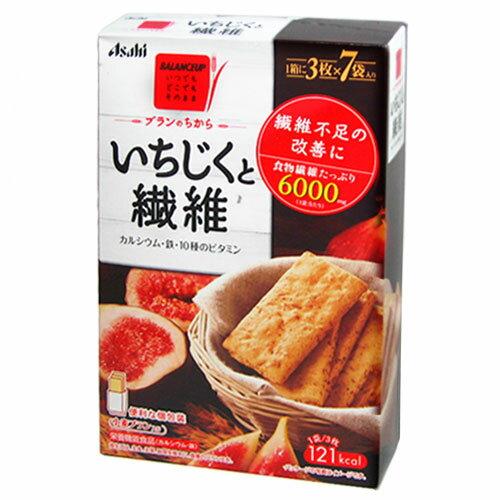バランスアップ ブランのちから いちじくと繊維 3枚×7袋 [栄養機能食品] 【Asahi】