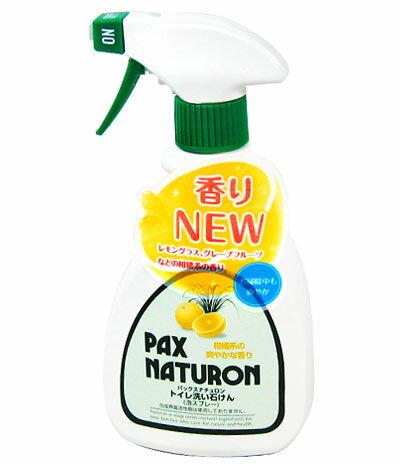 太陽油脂 パックスナチュロン トイレ洗い石けん 泡スプレー式 400ml 【RCP】【05P03Sep16】