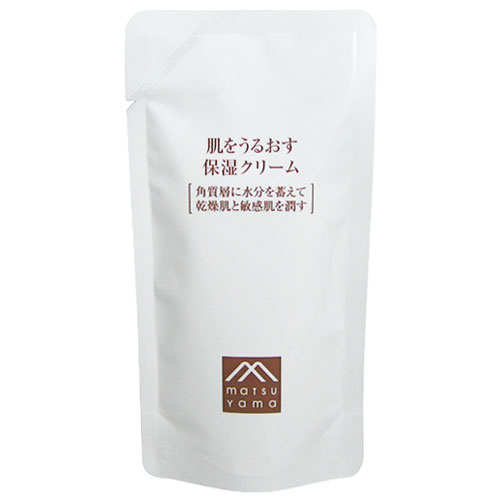 松山油脂 肌をうるおす 保湿クリーム 詰替用45g